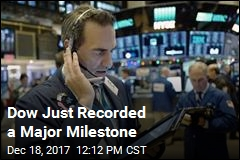 Dow Up 5K Points for the Year, a First