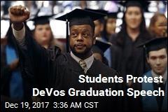 DeVos Booed During Commencement Speech