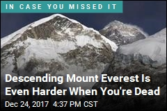 Descending Mount Everest Is Even Harder When You're Dead