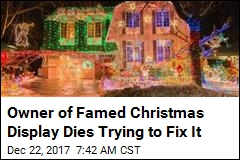 Owner of Famed Christmas Display Dies Trying to Fix It