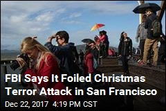 Man Planning San Francisco Christmas Attack Arrested: FBI
