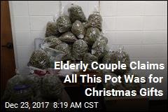 Elderly Couple Busted for Transporting $336K Pot Stash