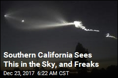 Southern California Sees This in the Sky, and Freaks