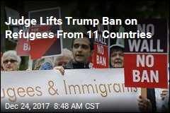 Judge Partially Lifts Trump Refugee Ban