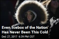 Even 'Icebox of the Nation' Has Never Been This Cold