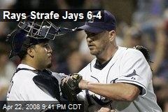 Rays Strafe Jays 6-4