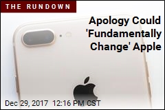 Apology Could 'Fundamentally Change' Apple