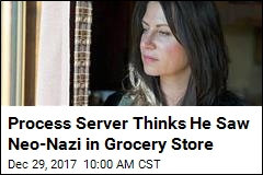Neo-Nazi Claims to Be Outside US; Process Server Disagrees
