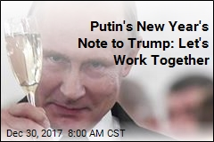 Putin's New Year's Message to Trump Asks for 'Mutual Respect'