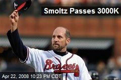 Smoltz Passes 3000K