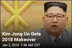 Kim Jong Un Gets 2018 Makeover