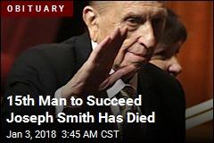 President of Mormon Church Dies