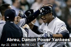 Abreu, Damon Power Yankees