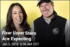 Fixer Upper Stars Are Expecting
