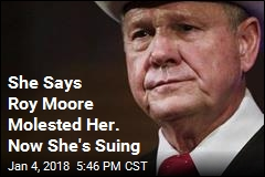 Roy Moore Accuser Sues Him for Defamation