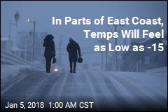 East Coast Braces for Deep Freeze