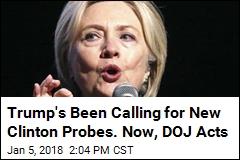 Back in the DOJ Spotlight: Clinton's Emails, Foundation