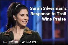 Sarah Silverman Wins Praise for Compassion to Troll