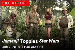 Jumanji Topples Star Wars
