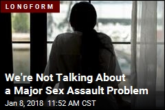 We're Not Talking About a Major Sex Assault Problem