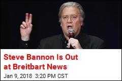 Steve Bannon Leaving Breitbart News