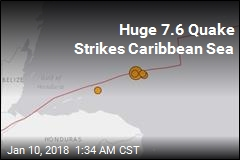 Huge 7.6 Quake Strikes Caribbean Sea