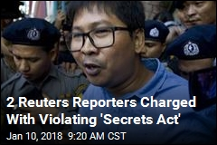 2 Reuters Reporters Face 14 Years in Prison in Myanmar