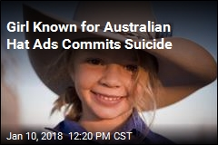 Girl Known for Australian Hat Ads Commits Suicide