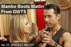 Mambo Boots Matlin From DWTS