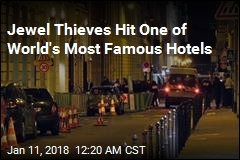 'Total Panic' After Ritz Paris Jewel Heist