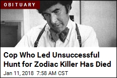 Detective Who Spent 9 Years Hunting Zodiac Killer Has Died