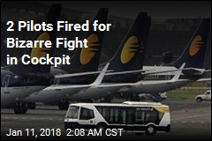 2 Pilots Fired for Fighting in Cockpit