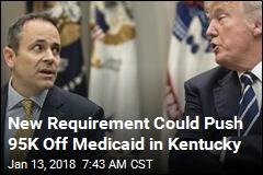 New Requirement Could Push 95K Off Medicaid in Kentucky