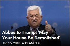 Palestinian Leader Slams Trump's 'Slap of the Century'