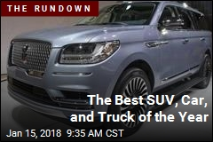 The Best SUV, Car, and Truck of the Year