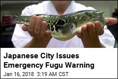 Japanese City Issues Emergency Fugu Warning