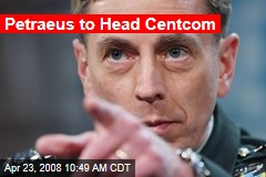 Petraeus to Head Centcom