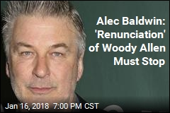 Alec Baldwin: 'Renunciation' of Woody Allen Must Stop