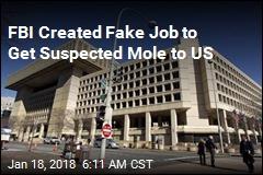 FBI Created Job for Suspected CIA Mole