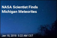 NASA Scientist Finds Michigan Meteorites