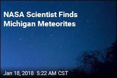 NASA Scientist Finds Michigan Meteorites