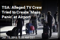 TV Crew Tries to Pass Fake Bomb Through Airport Security