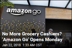 Amazon's No-Checkout Grocery Store Opens Monday