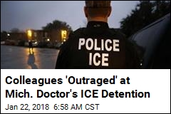 After 40 Years in US, Mich. Doctor Detained by ICE