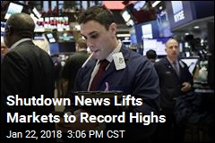 Markets Hit Record Highs After Shutdown News