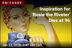Inspiration for Rosie the Riveter Dies at 96