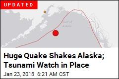 Tsunami Warning Issued After Huge Quake Off Alaska