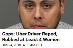 Uber Driver Charged With 4 California Rapes