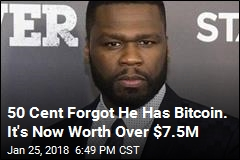 50 Cent Forgot He Has Bitcoin. It's Now Worth Over $7.5M