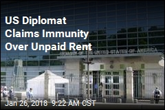 US Diplomat Claims Immunity Over Unpaid Rent